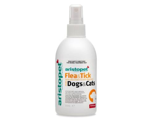 Aristopet Flea And Tick Plus IGR Spray For Cats and Dogs - Pikabu