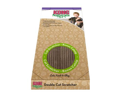 Kong Cat Naturals Scratcher Double - Pikabu