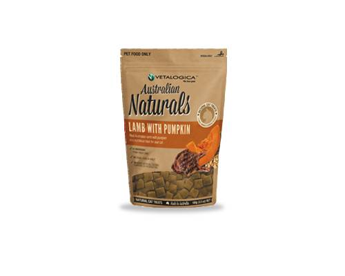 Vetalogica Australian Naturals Lamb with Pumpkin Cat Treats - Pikabu
