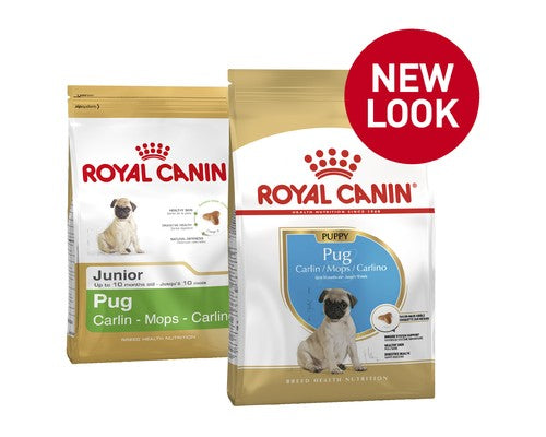 Royal Canin Pug Junior(Puppy) - Pikabu