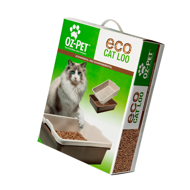Oz Pet Eco Loo Cat Litter Tray - Pikabu