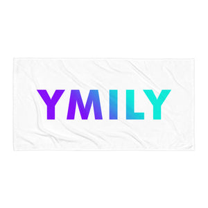 Purple/Teal Logo Gradient Towel