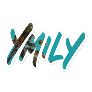 YMILY Tropical Sky Sticker
