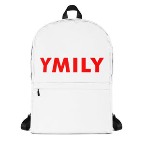 Red Logo Backpack