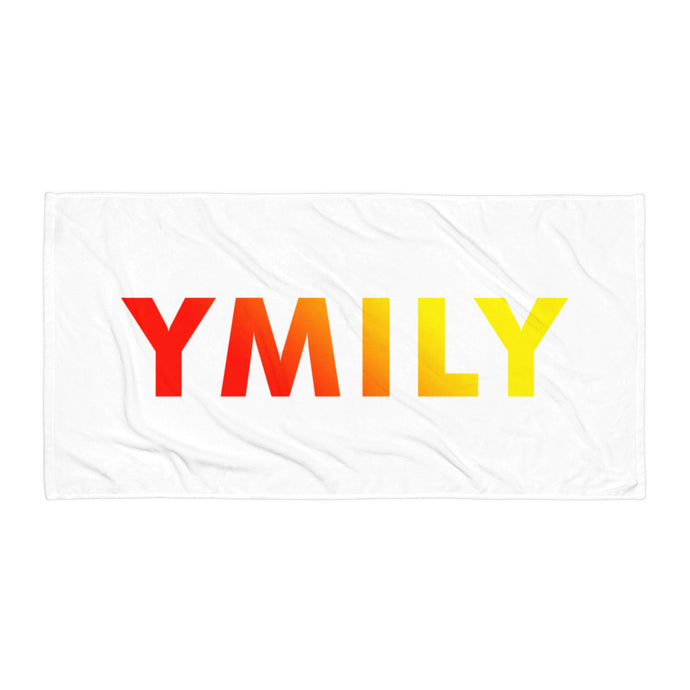 Red/Yellow Logo Gradient Towel