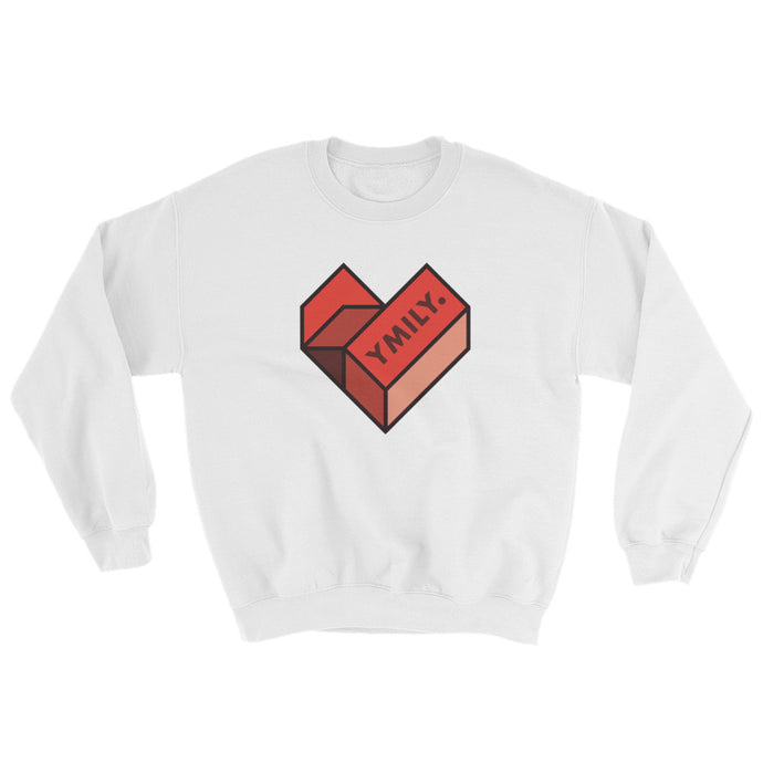 SMB Geometric Heart Sweatshirt