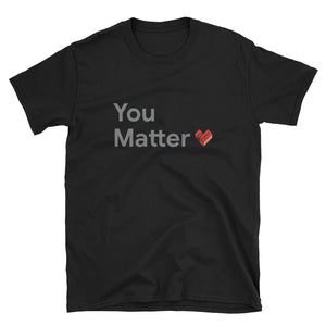 SMB You Matter Gray T-Shirt