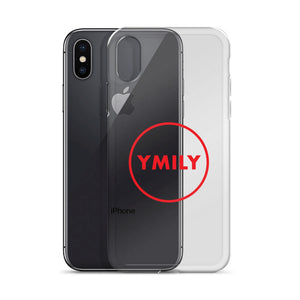 Red Circle Logo iPhone Case