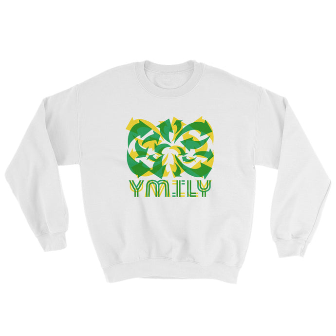 Lynam Green/Yellow Arrows Sweatshirt