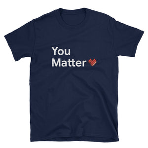 SMB You Matter White T-Shirt