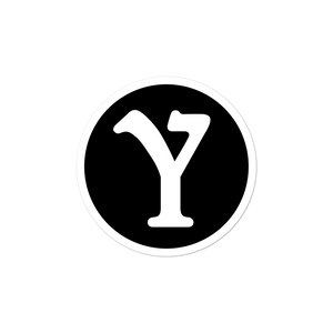 YMILY Black Symbol Sticker