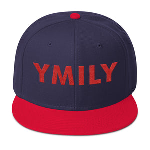 Red Logo Snapback Hat