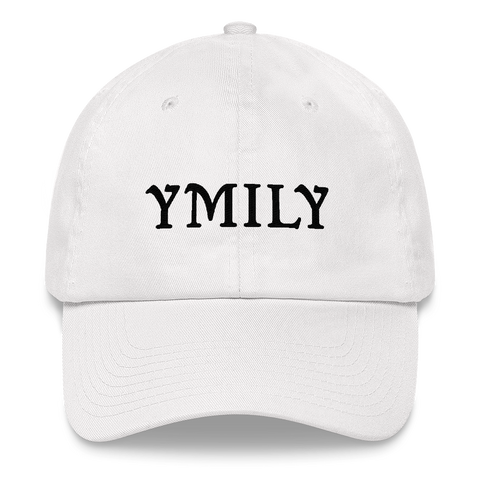 YMILY Black Logo Dad Hat