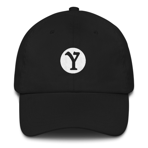 YMILY White Symbol Dad Hat