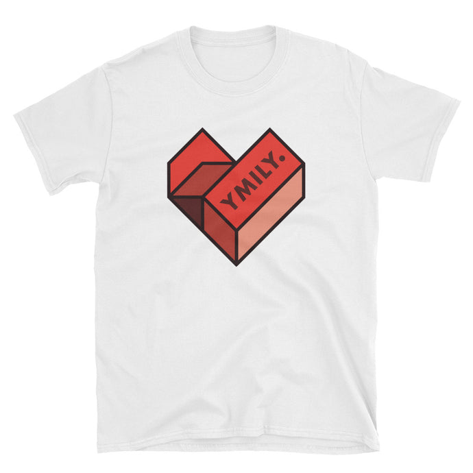 SMB Geometric Heart T-Shirt