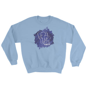 Espindola White/Blue Elephant Sweatshirt