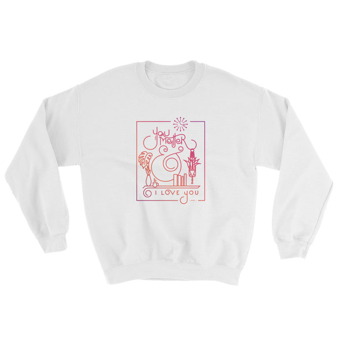 Johnson Serene Pink Sweatshirt
