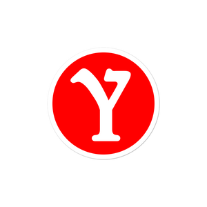YMILY Red Symbol Sticker
