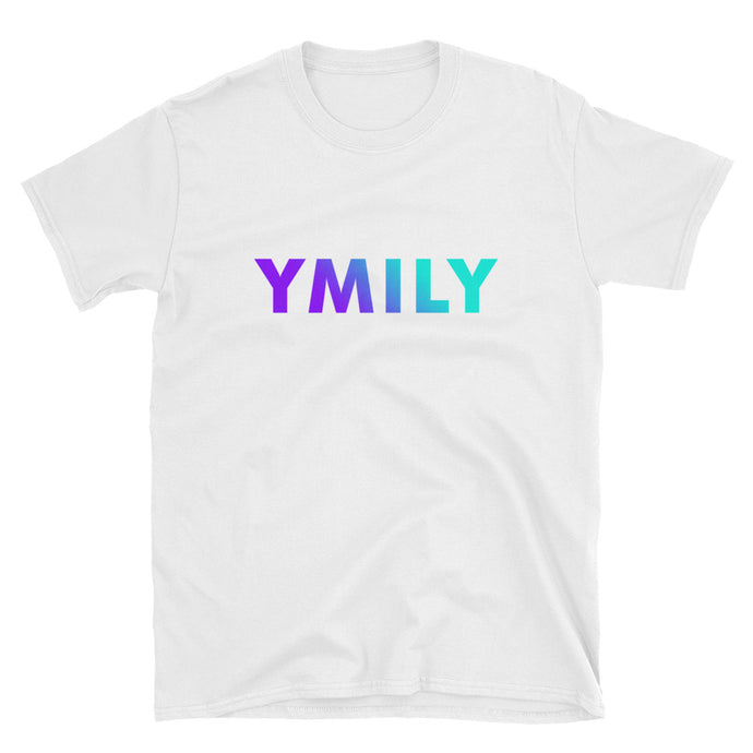 Purple/Teal Gradient Logo T-Shirt