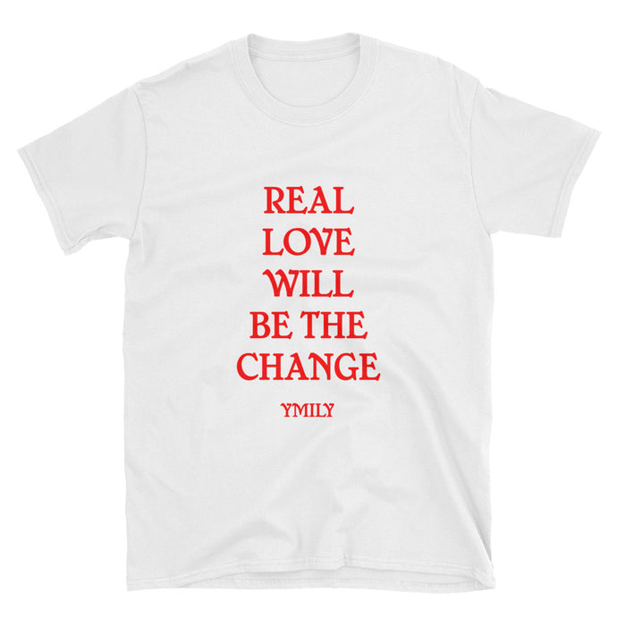 Real Love Red/White T-Shirt