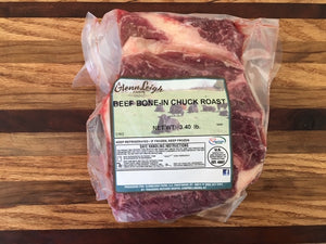 Grass-Fed Bone-in Chuck Roast
