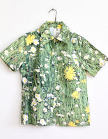 PHOTO REAL DAISY BUTTON UP