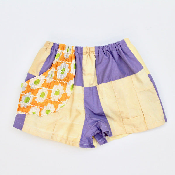 Floral and Quilted Play Shorts, Kids 3/4T