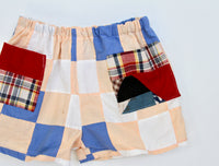 Quilt Top Play Shorts, Kids 3/4T