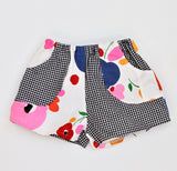 70's Floral Play Shorts, Kids 5/6