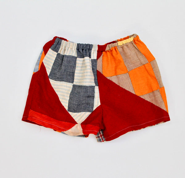 Quilt Top Play Shorts, Kids 5/6