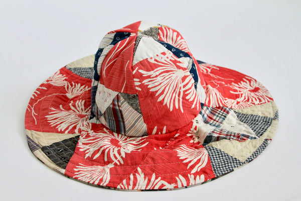 Quilt and Mugshot Reversible Pool Hat