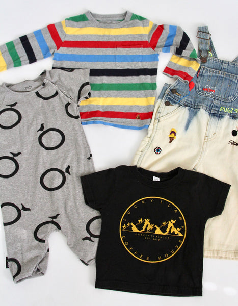 Embroidered Overall Bundle 18-24 months