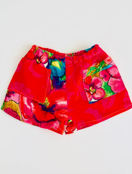 Tropical Play Shorts, Kids 1/2T