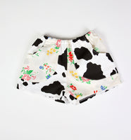 Cow Playshorts, Kids 1/2T