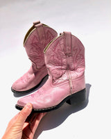 BIG GIRL BOOTS, LITTLE VINTAGE COWBOY BOOTS