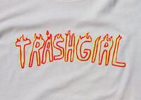 SUPER SOFT BONE WHITE, TRASHGIRL LIMITED TEE