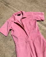 PINK CORD JUMPSUIT, WOMENS