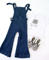 Denim Jumpsuit and Vans Bundle, 18 months