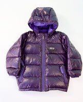 Purple Puffer Jacket, 12 months