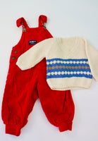 Osh Kosh and Hand Knit Sweater Bundle, 6-24 months