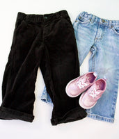 Black Cords, Vans and Denim Bundle 2-3T