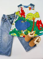 Jungle Denim and Winter Boots Bundle, 6 month-2T