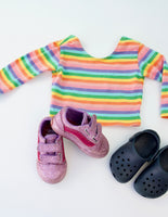Crop Top and Crocs Bundle, 1-2 years