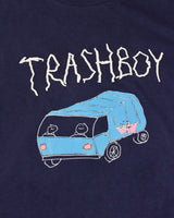 WINTER NAVY TRASH TEE, TRASHBOY/TRASHGIRL