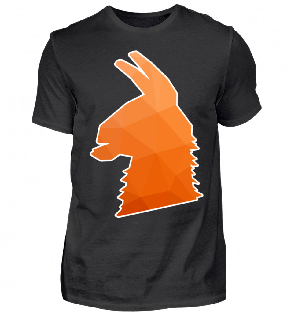 Lama (Orange)  - Herren T-Shirt