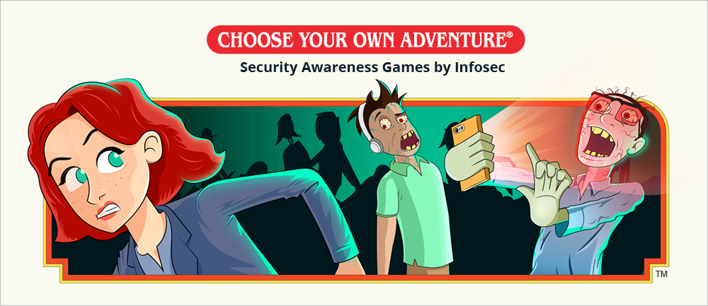 Infosec brings Choose Your Own Adventure® magic to security awareness training