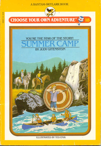 Summer Camp Choose Your Own Adventure Book