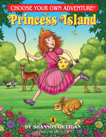Princess Island Adventure Book