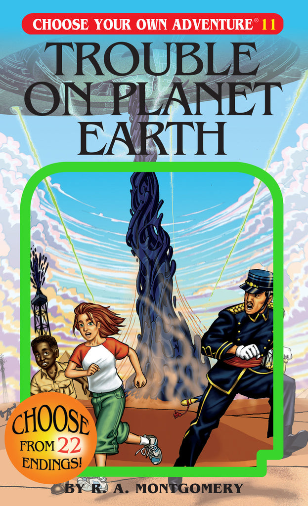 Choose Your Own Adventure #11 Trouble On Planet Earth