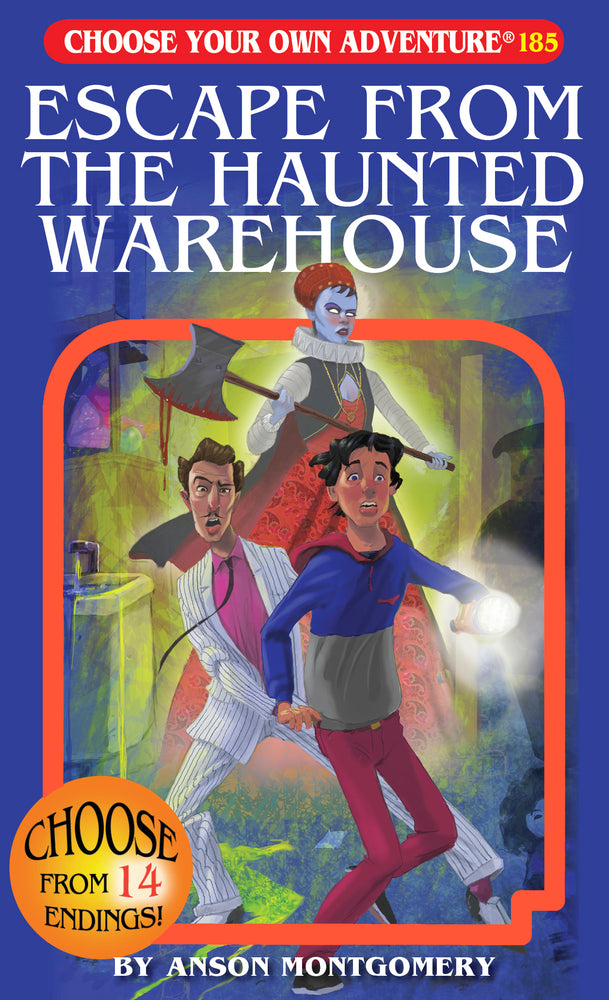 Escape From The Haunted Warehouse